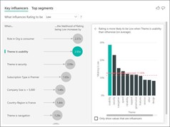 Enable Key Influencers Visual in Microsoft Power BI